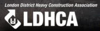 London District Heavy Construction Association (LDHCA) Logo - www.artscrushing.ca
